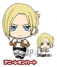 Attack on Titan Picktam! Rubber Straps - Annie Leonhardt