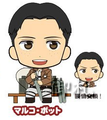 Attack on Titan Picktam! Rubber Straps - Marco Bodt