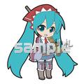 Vocaloid Project DIVA Track 03 Trading Strap - Hatsune Miku Gallia Squad 7 ver.