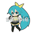 Vocaloid Project DIVA Track 03 Trading Strap - Hatsune Miku Vocal ver.
