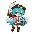 Vocaloid Project DIVA Track 03 Trading Strap - Hatsune Miku Pirate ver.