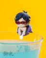 Free! Ochatomo Glass Hanger Figures - Ryuugazaki Rei