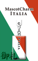 Flags of the World Mascot Charms - Italy