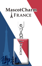 Flags of the World Mascot Charms - France