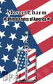Flags of the World Mascot Charms - United States of America