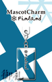 Flags of the World Mascot Charms - Finland