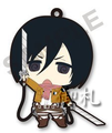 Attack on Titan Trading Rubber Straps - Mikasa Ackerman