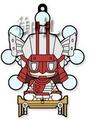 Sengoku Basara 4 Rubber Straps vol.2 - Ohtani Yoshitsugu