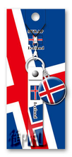 Flags of the World Rubber Strap - Iceland