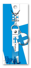 Flags of the World Rubber Straps - Finland