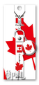 Flags of the World Rubber Strap - Canada