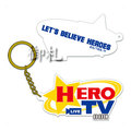 Tiger & Bunny Rubber Keychain - Hero TV Logo