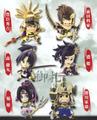 Sengoku Musou 3: Warriors Mini Figure Collection Vol. 3 - Maeda Toshiie
