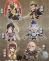 Shin Sangoku Musou 5: Warriors Mini Figure Collection Vol. 1 - Lu Bu