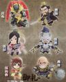 Shin Sangoku Musou 5: Warriors Mini Figure Collection Vol. 1 - Zhang Liao