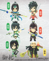 Shin Sangoku Musou 6: Warriors Mini Figure Collection Vol. 1 - Jiang Wei