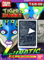 Tiger & Bunny DecoMeta Sticker Collection - Lunatic