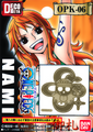 One Piece Pirate Flag DecoMeta Sticker Collection - Nami