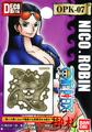 One Piece Pirate Flag DecoMeta Sticker Collection - Nico Robin