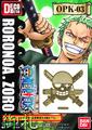 One Piece Pirate Flag DecoMeta Sticker Collection - Zoro