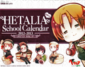 Axis Powers Hetalia 2012-2013 Page-A-Day Desk Calendar
