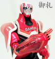 Tiger & Bunny S.H. Figuarts Barnaby Brooks, Jr. Collectible Figure - Hero Suit Version