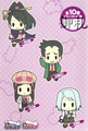 Ace Attorney Rubber Strap Collection Vol. 2 - Blue Badger