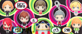 Persona 3 & 4 Game Character Collection Mini Trading Figure Collection Vol. 2 - Akihiko Sanada