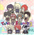 Tales of Friends Rubber Strap Collection Vol.3 - Raven