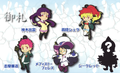 Ao no Exorcist Rubber Strap Collection Vol.1 - Kamiki Izumo