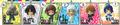 Bakuman Character Strap Collection - Fukuda Shinta