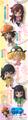 Bakemonogatari Character Swing Collection - Sengoku Nadeko