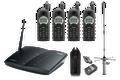 ENGENIUS DuraPRO-PIB20L-IND Durafon Pro Base / (4) Handset Bundle W/20M Internal Antenna, Part No# DuraPRO-PIB20L-IND