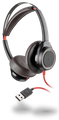 BLACKWIRE 7225 Corded, boomless stereo headset with active noise canceling Part# 211144-01