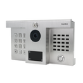 DoorBird IP Video Door Station D1812, Hybrid upgrade for installations of DoorKing® 1812 Classic and Plus, stainless steel V2A, brushed, Part# 423866720