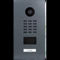 DoorBird IP Video Door Station D2101V, Stainless steel V4A, powder-coated, semi-gloss, RAL 7011, Part# 423862326