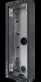 DoorBird D2101KV/D2102FV EKEY surface-mounting housing (backbox), Stainless steel V4A, powder-coated, semi-gloss, DB 703, Part# 423868038