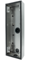 DoorBird D2101KV/D2102FV EKEY surface-mounting housing (backbox), Stainless steel V2A, brushed, Part# 423862821