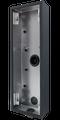 DoorBird D2101KV/D2102FV EKEY surface-mounting housing (backbox), Stainless steel V4A, powder-coated, semi-gloss, RAL 7016, Part# 423868045