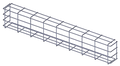 WIRE GUARD FOR VL550-2 PACK (Must be ordered in multiples of 2- priced per piece), Part# V-WGVL550-2
