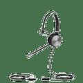 Yealink YHS36-MONO YHS36-Mono (monaural) Quick Disconnect headset - QD with RJ9 jack