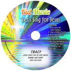 Let's Sing For Jesus Personalized Kids Christian Music CD