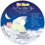 No One Like You Personalized Kids Christian Lullaby Music CD