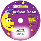 Bedtime for Me Personalized Kids Lullaby Music CD