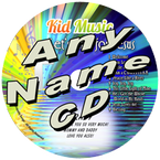 CUSTOM NAME - Let's Sing For Jesus Personalized Childrens Christian Music CD