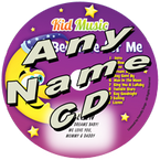 CUSTOM NAME - Bedtime for Me Personalized Childrens Lullaby Music CD