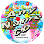 CUSTOM NAME - Birthday Party Songs with Lunchbox & Friends Personalized Childrens Music CD