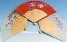 Silk Folding Hand Fan