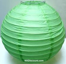 Green Chinese Paper Lantern