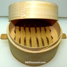 Mini Bamboo Steamer Set